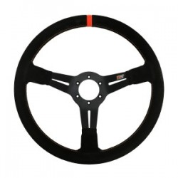 MPI DO 14 inch Suede Competition Steering Wheel