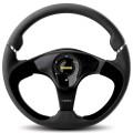 MOMO NERO Steering Wheel, 350mm Leather NER35BK0B
