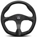 MOMO Quark Black Steering Wheel, 350mm